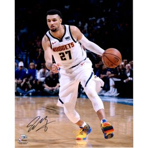 Autographed Denver Nuggets Jamal Murray Fanatics Authentic 16″ x 20″ Driving Photo