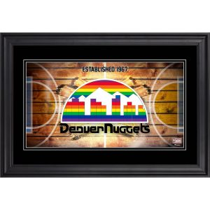 Denver Nuggets Fanatics Authentic Framed 10″ x 18″ Hardwood Classics Panoramic Photograph