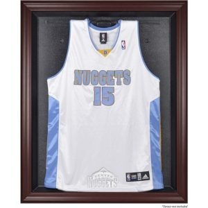 Denver Nuggets Fanatics Authentic Hardwood Classics 1993 – 2018 Mahogany Framed Team Logo Jersey Display Case