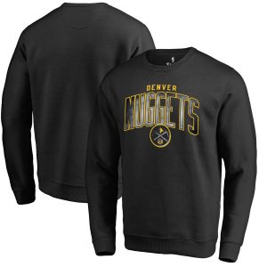 Denver Nuggets Fanatics Branded Arch Smoke Pullover Sweatshirt