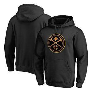 Denver Nuggets Fanatics Branded Hardwood Pullover Hoodie