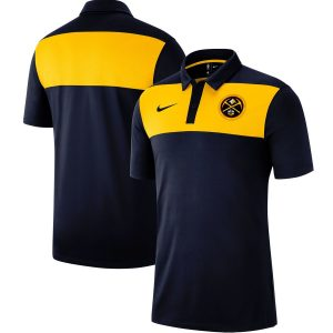 Denver Nuggets Nike Statement Coaches Polo