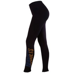 Denver Nuggets Women's Black Studded Leggings