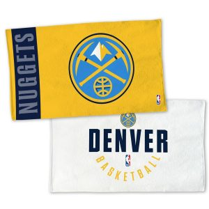WinCraft Denver Nuggets 22″ x 42″ Authentic On-Court Towel