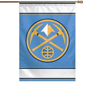 WinCraft Denver Nuggets 28″ x 40″ Two-Sided Vertical Flag