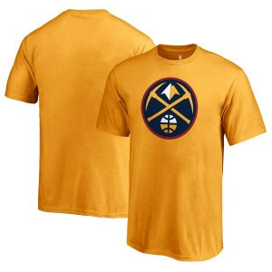 Youth Denver Nuggets Fanatics Branded Gold Primary Logo T-Shirt