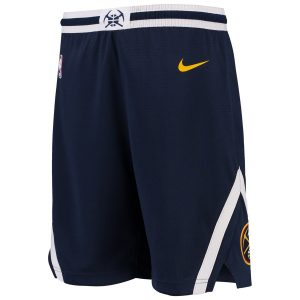 Youth Denver Nuggets Nike Navy Swingman Icon Performance Shorts