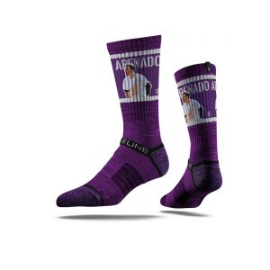 Nolan Arenado Crew Socks, Colorado Rockies Strideline Major League Baseball