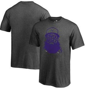 Charlie Blackmon Colorado Rockies Fanatics Branded Youth Hometown Chuck Nazty T-Shirt