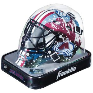 Colorado Avalanche Unsigned Franklin Sports Replica Mini Goalie Mask