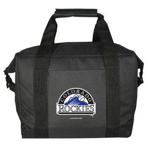 Colorado Rockies Charcoal 12-Pack Kooler Bag