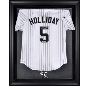 Colorado Rockies Fanatics Authentic (2017 – Present) Black Framed Logo Jersey Display Case