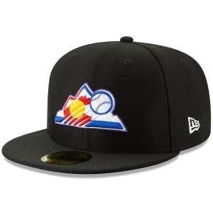 Colorado Rockies New Era 2019 Batting Practice 59FIFTY Fitted Hat