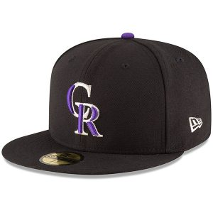 Colorado Rockies New Era Authentic Collection ON Field 59FIFTY Structured Hat