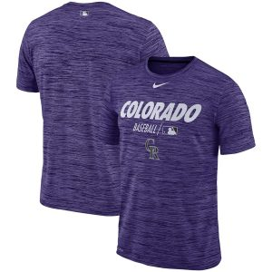 Colorado Rockies Nike Authentic Collection Velocity Team Issue Performance T-Shirt