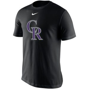 Colorado Rockies Nike Legend Batting Practice Primary Logo Performance T-Shirt