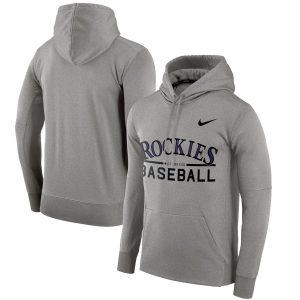 Colorado Rockies Nike Pullover Hoodie