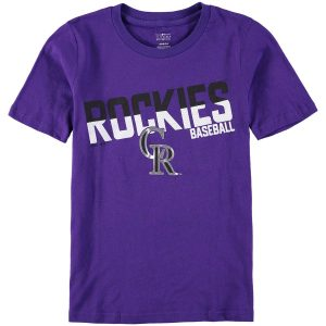 Colorado Rockies Youth Alternate All Meshed Up T-Shirt