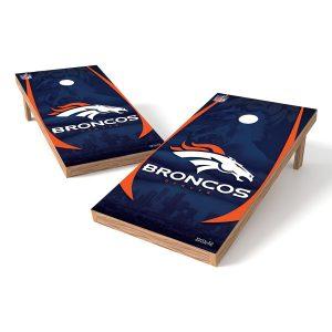 Denver Broncos Cornhole Tailgate Toss XL Shields Set