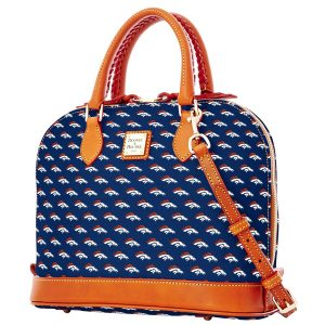 Denver Broncos Dooney & Bourke Women's Zip Zip Satchel