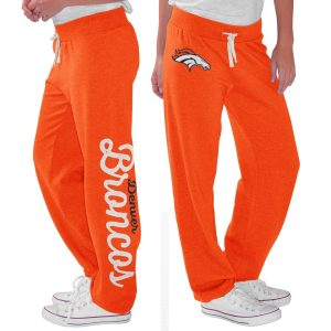 Denver Broncos G-III 4Her by Carl Banks Women's Scrimmage Fleece Pants