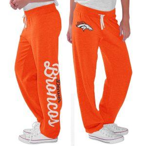 Denver Broncos G-III 4Her by Carl Banks Women's Scrimmage Fleece Pants