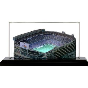 Denver Broncos Mile High Stadium 9″ Replica Stadium with Case