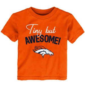 Denver Broncos Preschool Awesome Script T-Shirt – Orange