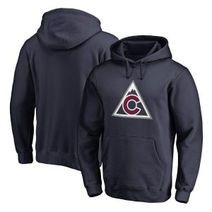Colorado Avalanche Navy Team Alternate Pullover Hoodie