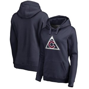 Colorado Avalanche Women's Navy Team Alternate Pullover Hoodie