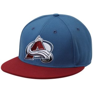 Men's Colorado Avalanche adidas Blue Basic Two-Tone Fitted Hat