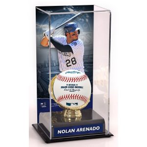 Nolan Arenado Colorado Rockies Fanatics Authentic Gold Glove Display Case with Image