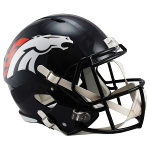 Riddell Denver Broncos Revolution Speed Full-Size Replica Football Helmet