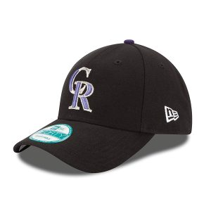 Colorado Rockies New Era Adjustable Cap, MLB Home The League 9FORTY