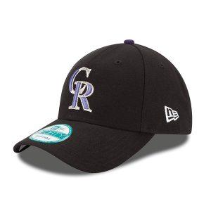 Colorado Rockies New Era Adjustable Cap, MLB Home The League 9FORTY