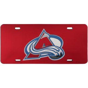 WinCraft Colorado Avalanche Crystal Mirror License Plate