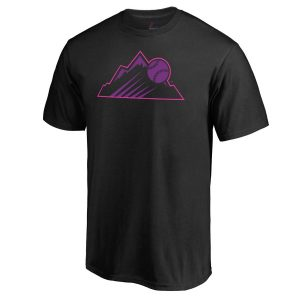 Colorado Rockies Majestic 2018 Players' Weekend T-Shirt – Black