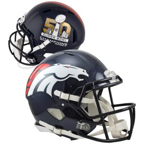 Denver Broncos Riddell Denver Broncos Super Bowl 50 Champions Revolution Speed Mini Football Helmet