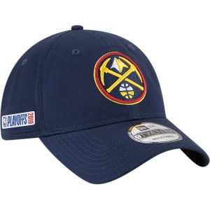 Denver Nuggets New Era 2019 NBA Playoffs Bound 9TWENTY Adjustable Hat – Navy