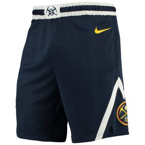 Denver Nuggets Nike 2018/19 Icon Edition Swingman Shorts