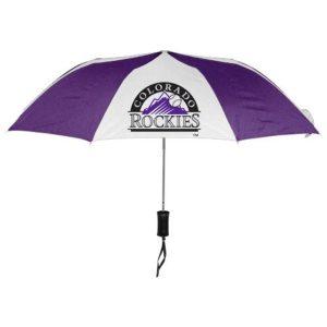 """Colorado Rockies WinCraft 42"""" Folding Umbrella"""