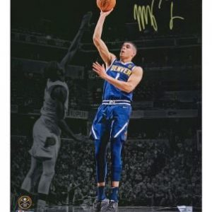 Autographed Denver Nuggets Michael Porter Jr. Fanatics Authentic 11″ x 14″ Spotlight Photograph