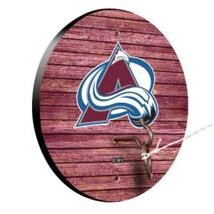 Colorado Avalanche Weathered Design Hook and Ring Game