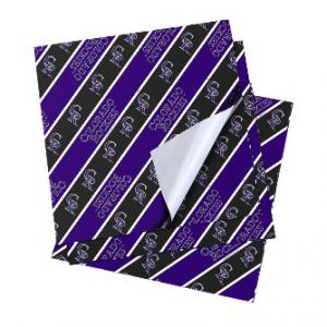 Colorado Rockies Folded Wrapping Paper