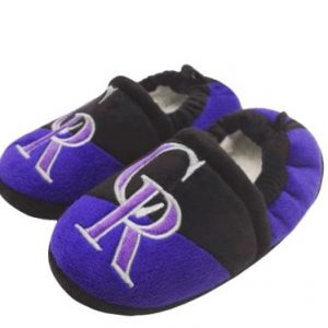 Colorado Rockies Toddler Colorblock Slide Slippers