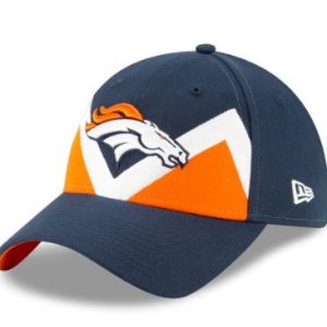 Denver Broncos New Era Women's 2019 NFL Draft On-Stage Official 9TWENTY Adjustable Hat – Navy