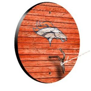 Denver Broncos Weathered Design Hook and Ring Game