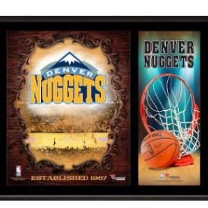 Denver Nuggets Fanatics Authentic 12″ x 15″ Sublimated Team Logo Plaque