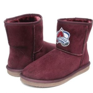 Girls Toddler Colorado Avalanche Cuce Rookie 2 Boots