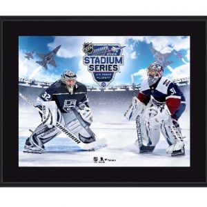 Los Angeles Kings vs. Colorado Avalanche Fanatics Authentic 10.5″ x 13″ 2020 NHL Stadium Series Sublimated Plaque